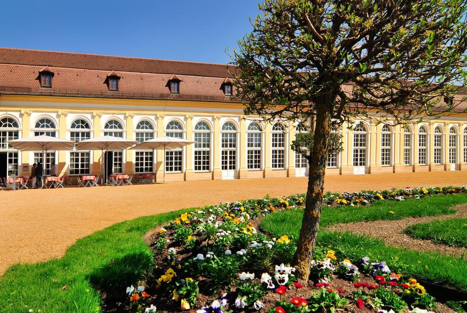 Hofgarten Ansbach - ein barockes Juwel