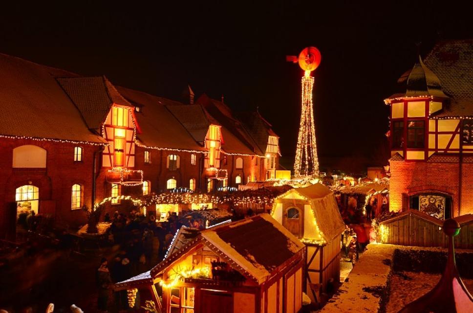 Romantischer Weihnachtsmarkt.Romantischer Weihnachtsmarkt Auf Gut Wolfgangshof