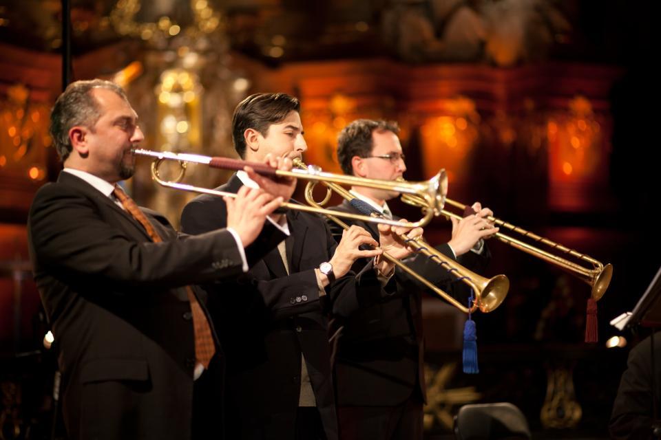 Pisendel-Kozert Nr. 3  / Barocktrompetenensemble Berlin