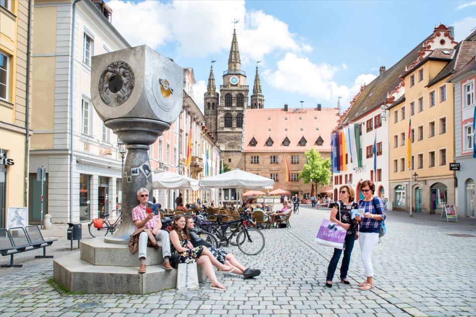 Wochenmarkt Ansbach