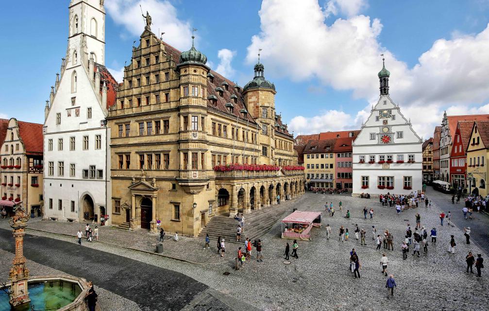 Wochenmarkt Rothenburg