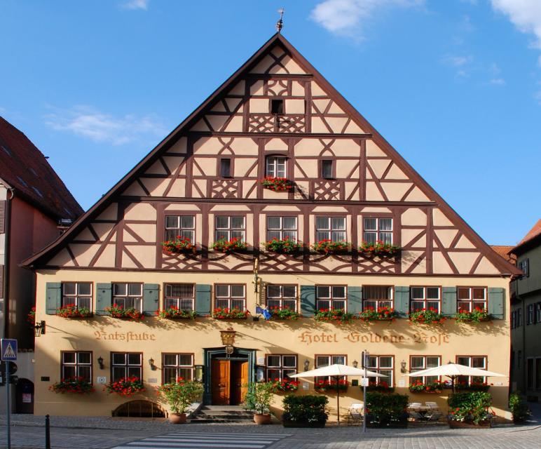 Hotel Goldene Rose - Dinkelsbühl