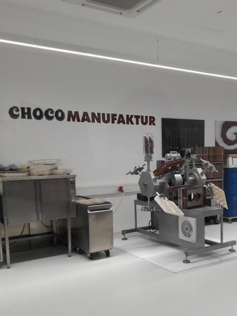 Chocothek der Confiserie Riegelein