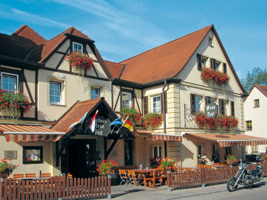 Hotel-Gasthof Neue Post - Leutershausen