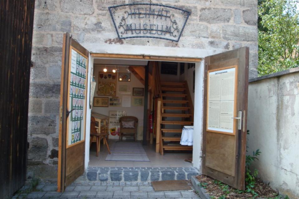 Vogteimuseum mit Blumenauer Heimatstube