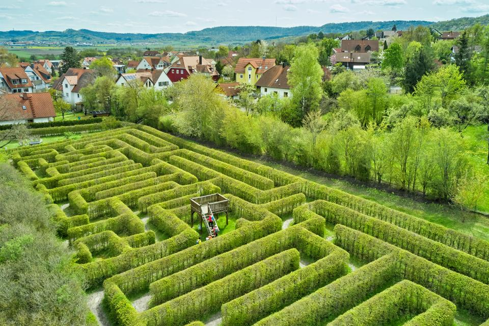 Das Labyrinth in Burgbernheim