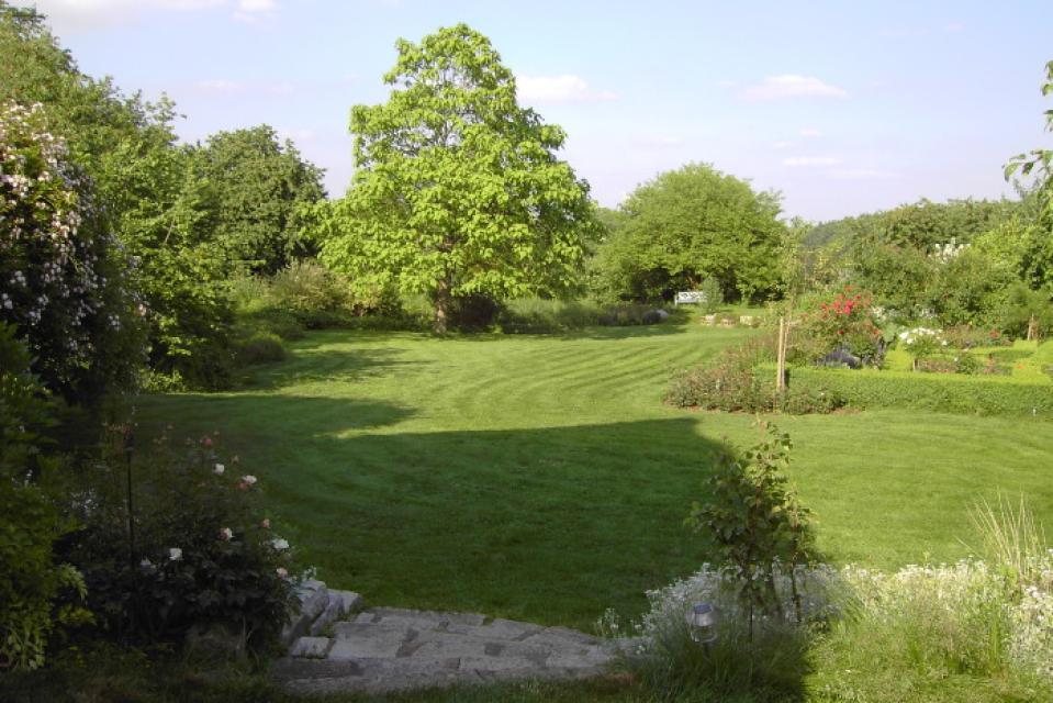 Privatgarten Familie Held - Ein Stück England