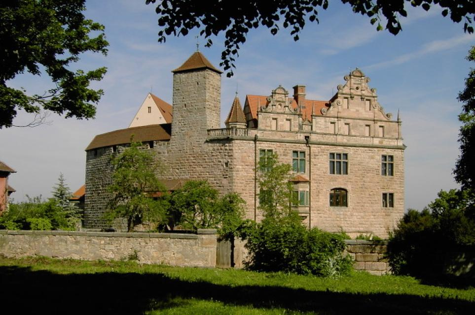 Burg & Burggarten Cadolzburg