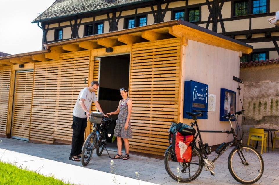 Fahrradservicestützpunkt Dinkelsbühl