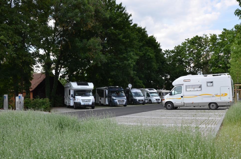 Wohnmobilstellplatz an der Mönchsrother Straße