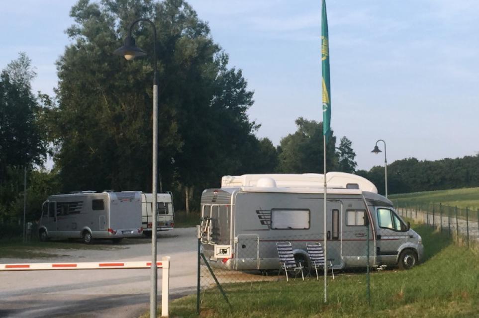 Park- und Campanlage für Wohnmobile