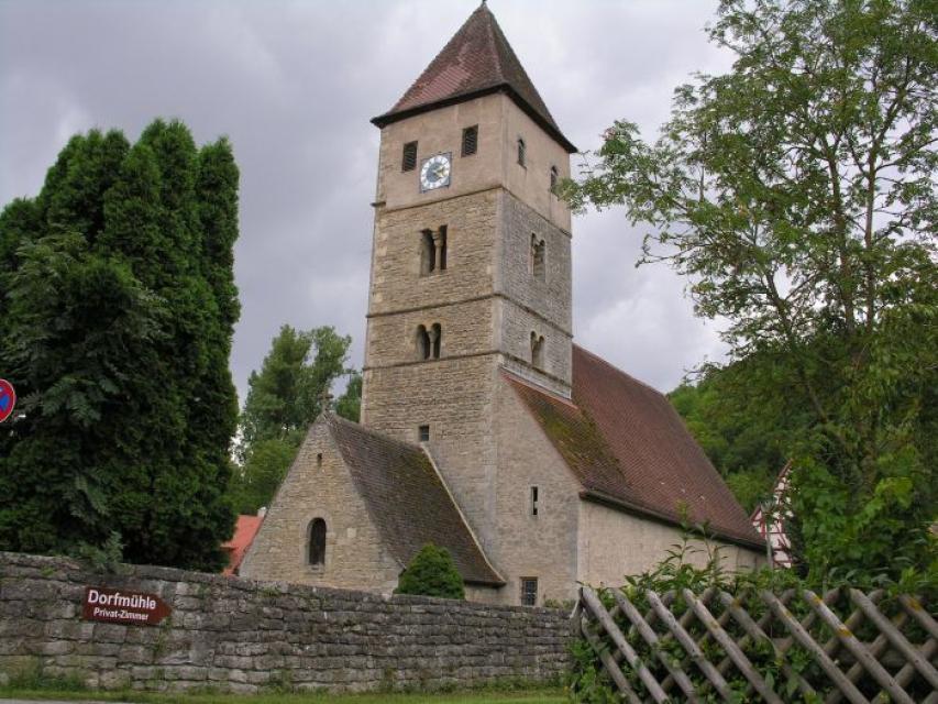 St. Peter-und-Pauls-Kirche in Detwang