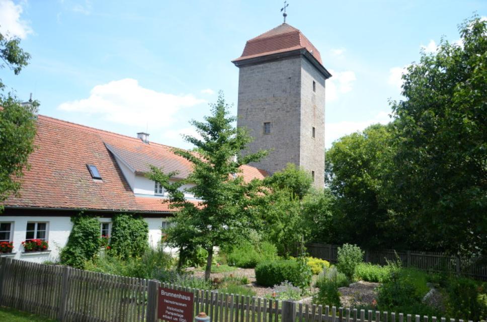 Kräuterlehrgarten in Schillingsfürst