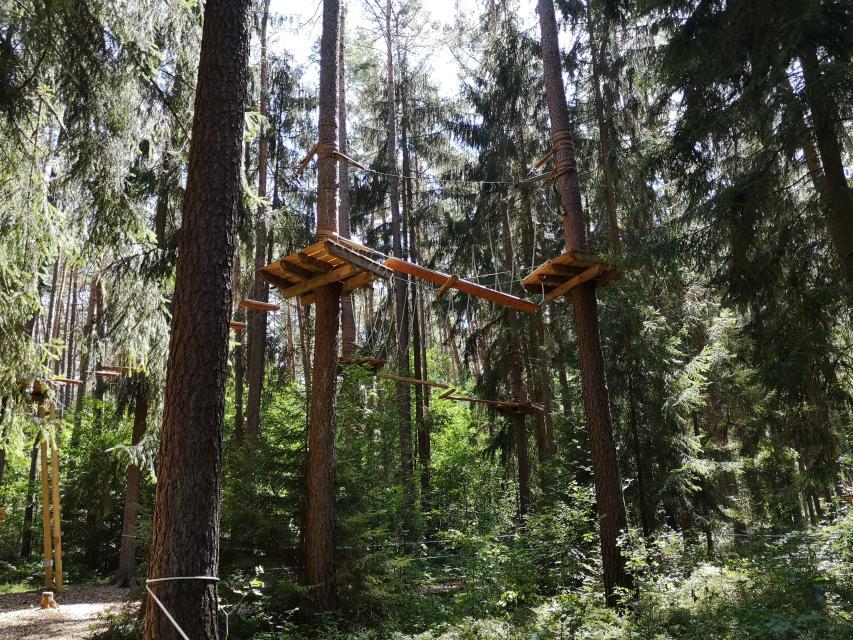 Kletterwald Weiherhof bei Zirndorf