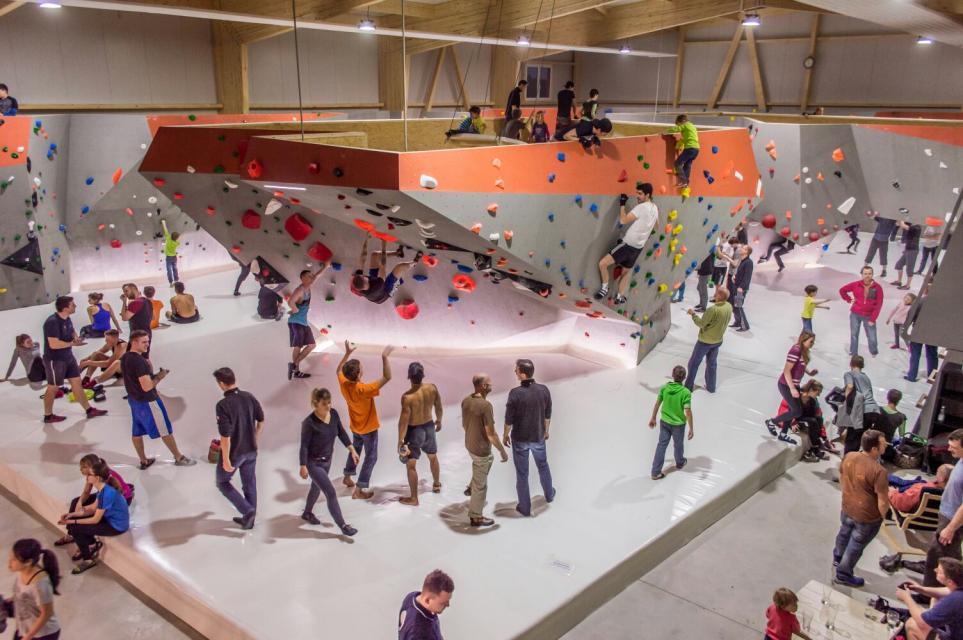 Boulderhalle in Burgoberbach