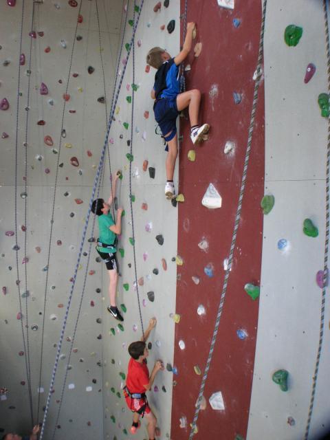 Kletterurm Dinkelsbühl, Kindergruppe -