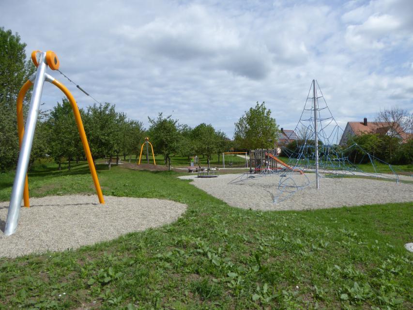 """Spielplatz """"Lindenstraße"""" Dombühl"""