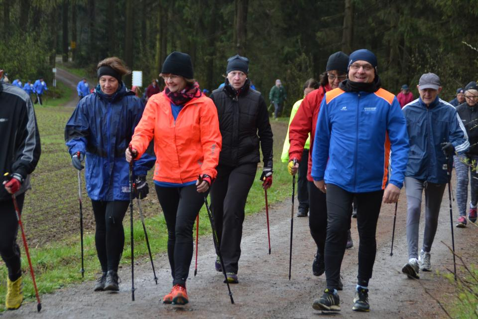 Nordic Walking Halbmarathon