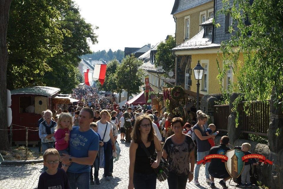 Mittelalterliches Burgfest Lichtenberg