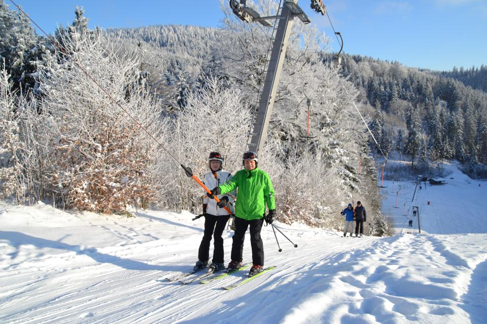 Kleinskilift an der Bergwiese