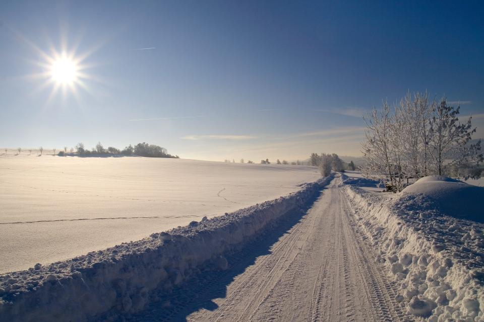 Winter-Rundwanderweg Schwarzenbach am Wald