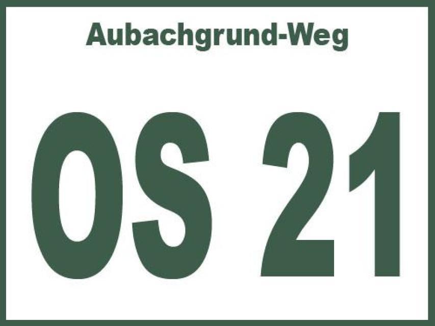 Aubachgrund-Weg OS 21