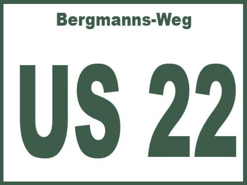 Bergmanns-Weg US 22