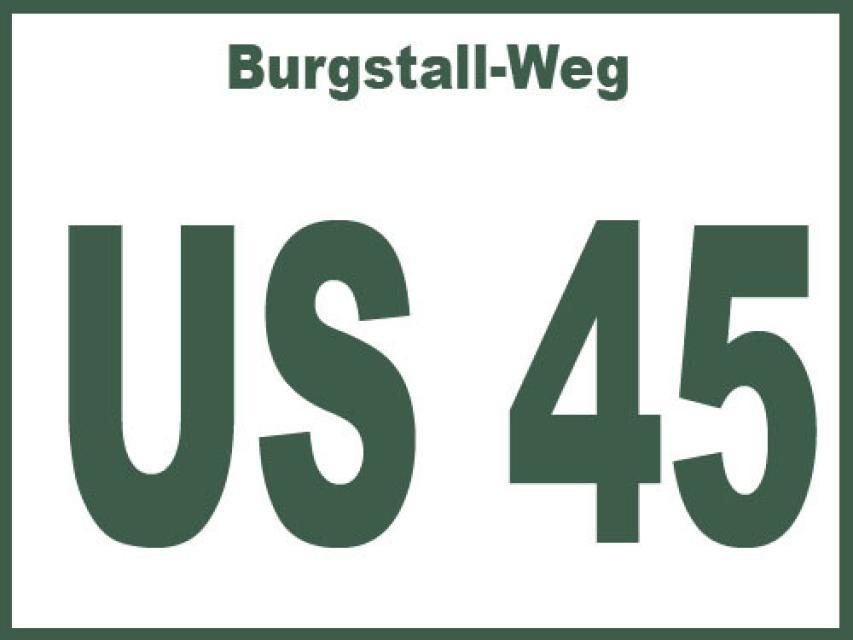 Burgstall-Weg US 45