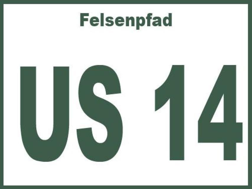 Felsenpfad US 14