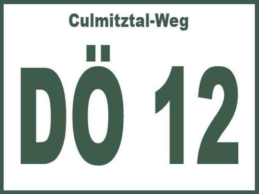 Culmitztal-Weg DÖ 12