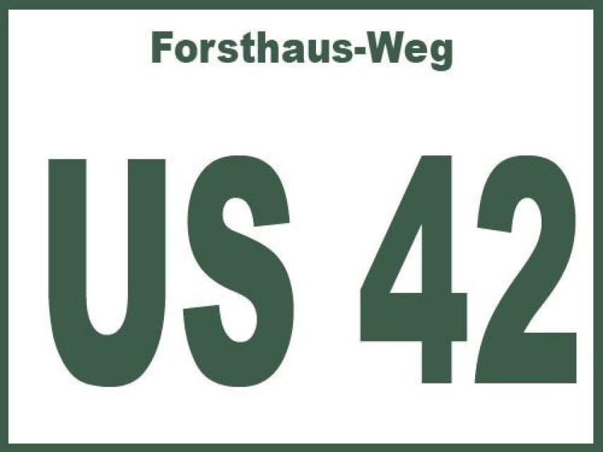 Forsthaus-Weg US 42