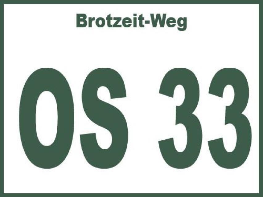 Brotzeit-Weg OS 33