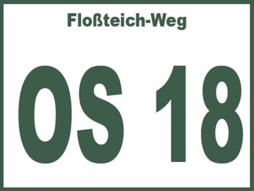 Floßteich-Weg OS 18