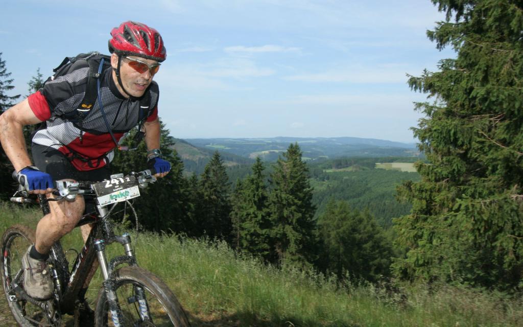 Mountainbike 7 Döbraberg