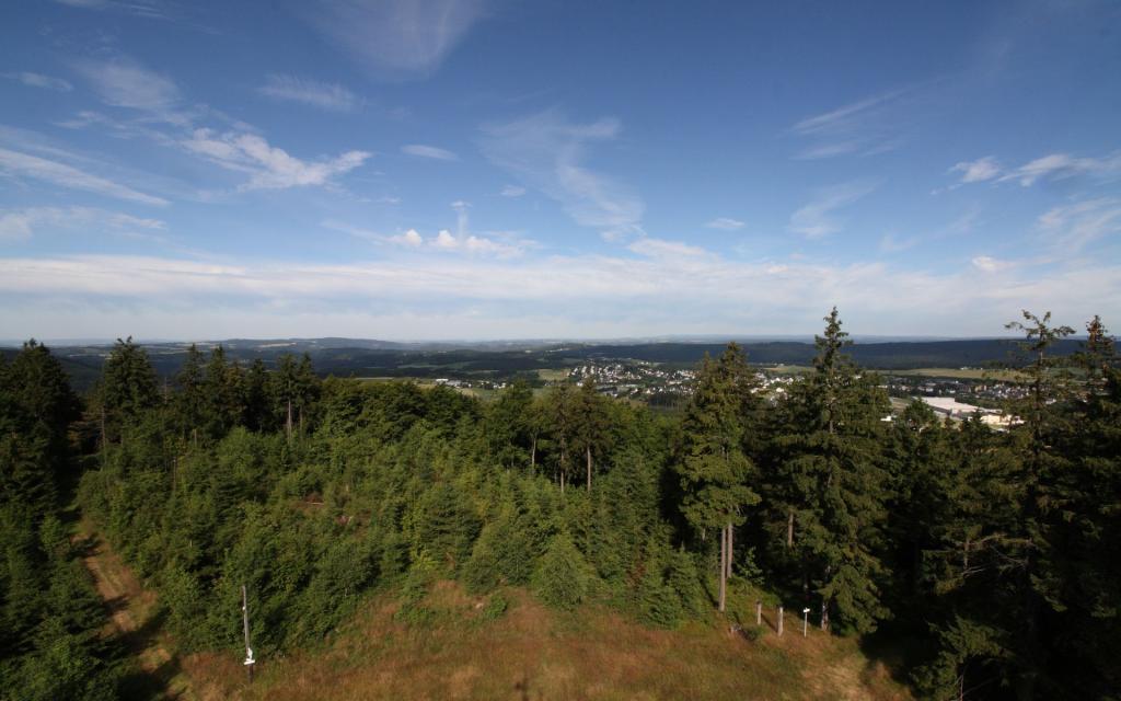 FrankenwaldSteigla Zum alten Grenzstein
