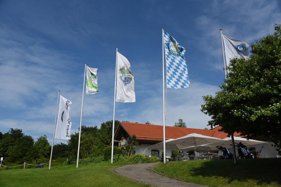 Info-Stand der Golfregion StarnbergAmmersee