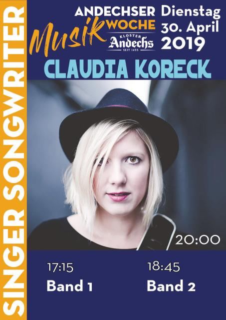 Andechser Musikwoche - Singer/Songwriter