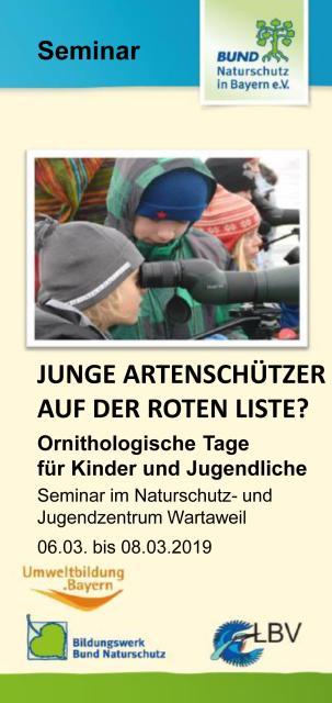 Ornithologische Tage für Kinder