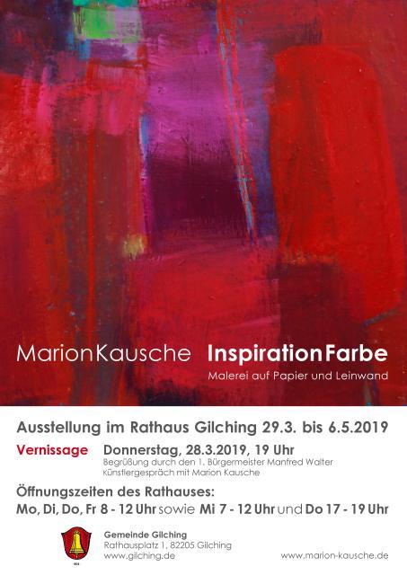 "Ausstellung ""Inspiration Farbe"""