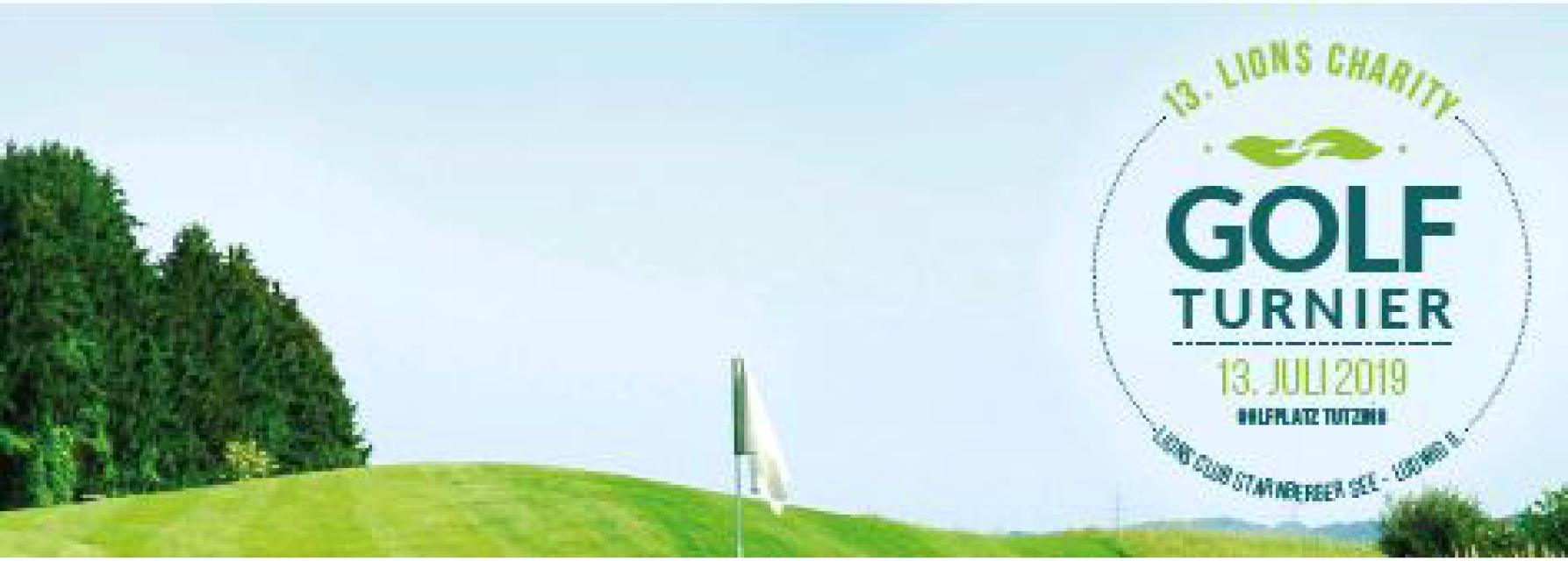 Charity Golfturnier des Lions Club Starnberger See