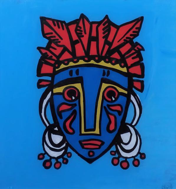 Kunst für Kinder: Hinterglasmalerei