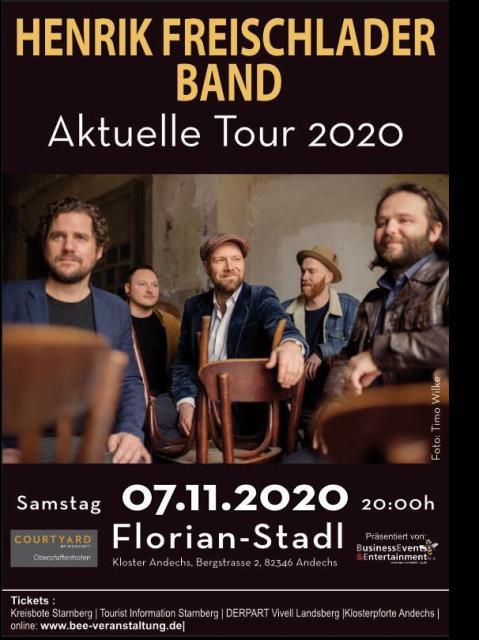 Henrik Freischlader Band - Verschoben