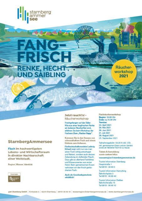 Jetzt raucht´s - Fischräucherworkshop