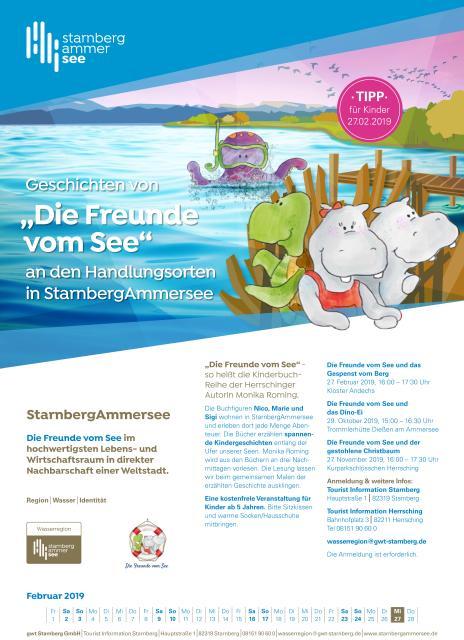 """Vorlesenachmittag """"Die Freunde am See"""" - gwt Starnberg GmbH"""