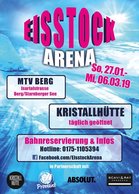 Eisstock Arena - GRAND OPENING
