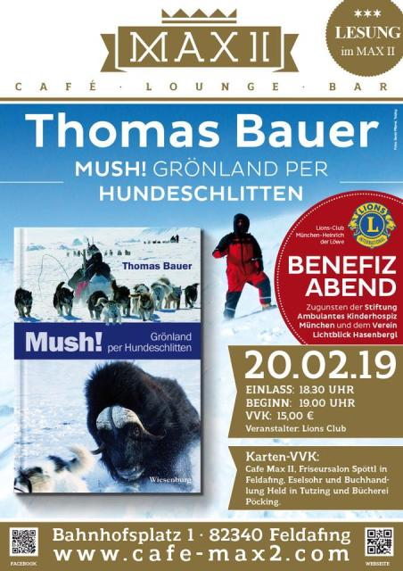 Thomas Bauer - Mush! Grönland per Hundeschlitten - © Café Max II