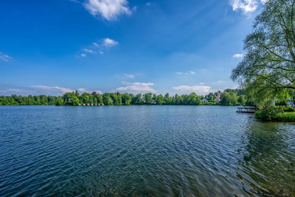 Badegelände am Weßlinger See