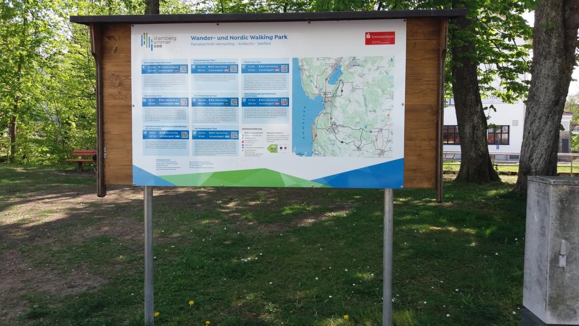 Route 14a: Von Herrsching über Rausch und Ellwang zur Waldkapelle
