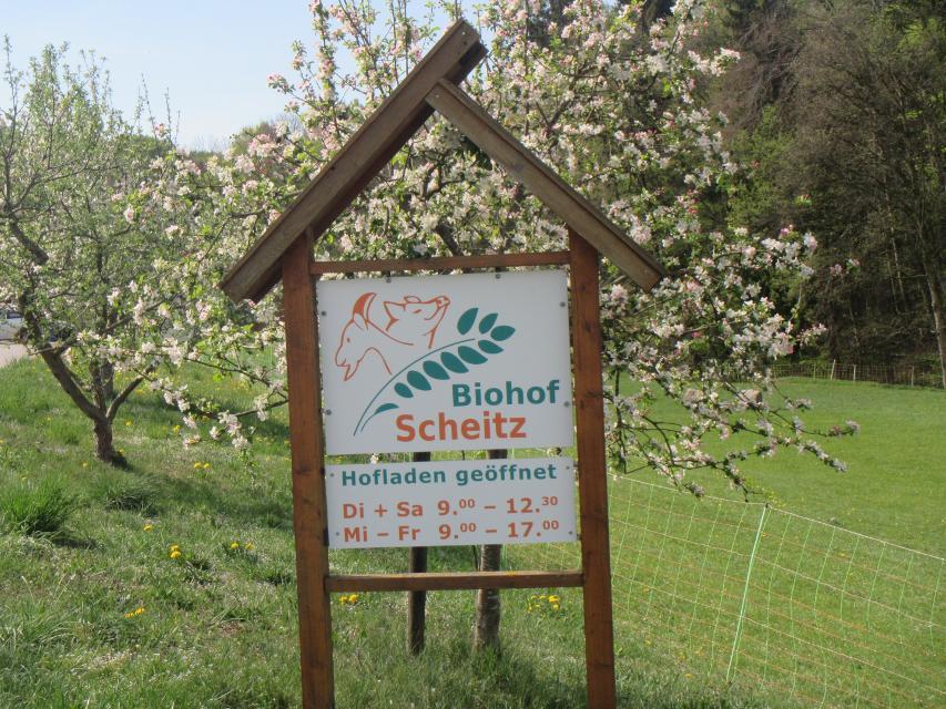 Abstecher Hofladen Scheitz