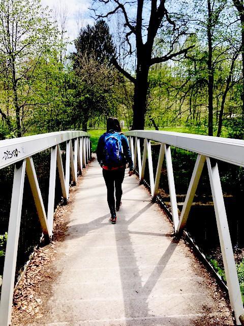 Brücke kurz vom Kloster Andechs